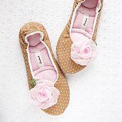 Обувь ручной работы handmade. Livemaster - original item Copy of Slippers Melissa , womens house shoes, Womens Slippers. Handmade.