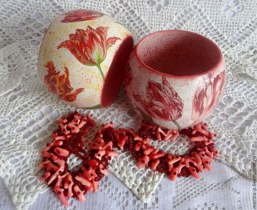"""Браслеты ручной работы. Ярмарка Мастеров - ручная работа. Купить Браслеты """" Весенние тюльпаны"""". Handmade. Разноцветный, весна"""