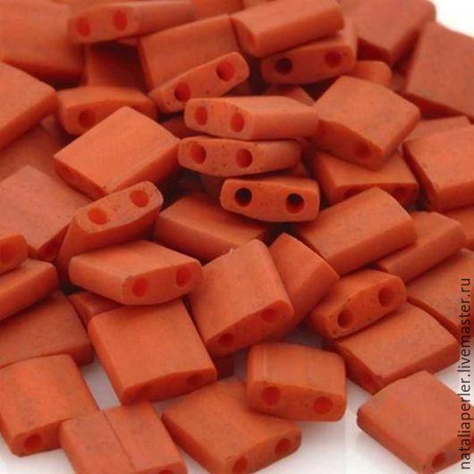 Для украшений ручной работы. Ярмарка Мастеров - ручная работа. Купить Миюки ТИЛА 2315 opaque satin matte dark orange 10гр. Handmade.