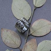 """Украшения ручной работы. Ярмарка Мастеров - ручная работа серебряное кольцо """"Среди ветвей"""". Handmade."""