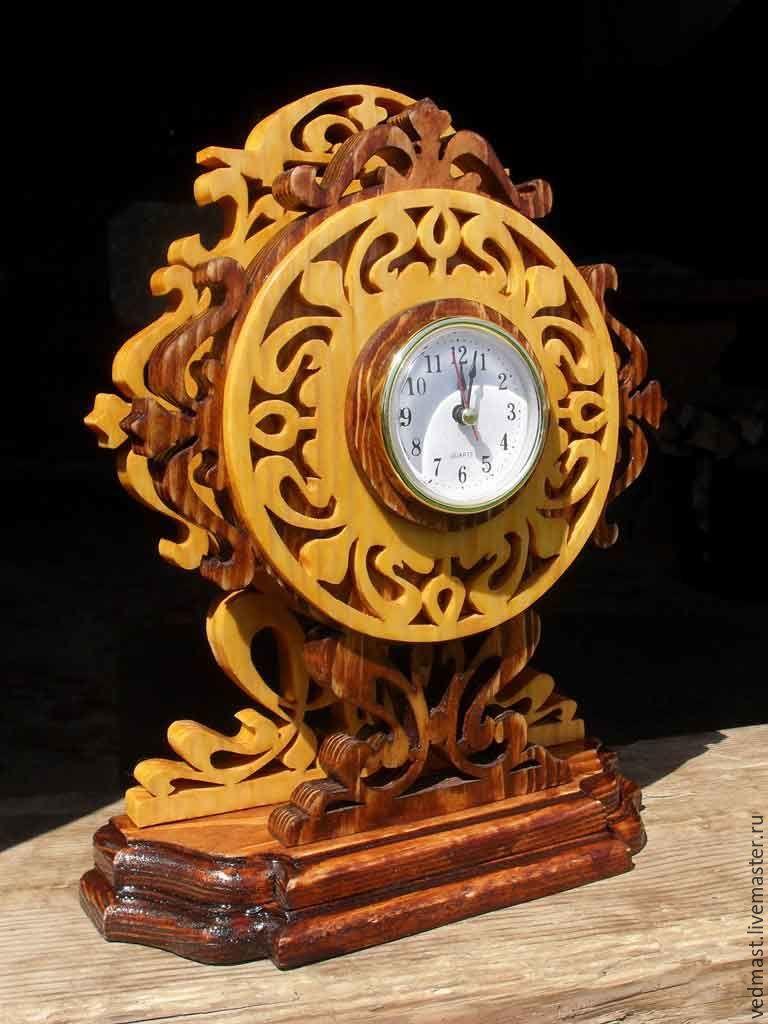 Часы Каминные II (Достаток). Размер : Выс. 300 мм, Шир. 210 мм, глуб. 100 мм, Цена – 5000 р.