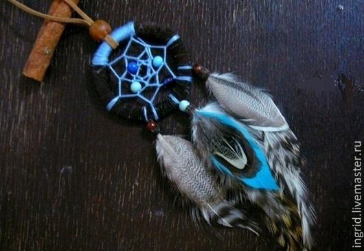 """Кулоны, подвески ручной работы. Ярмарка Мастеров - ручная работа. Купить Подвеска """"Ловец снов"""". Handmade. Этно, индейский оберег"""