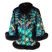 Одежда handmade. Livemaster - original item Designer jacket with fur. Handmade.