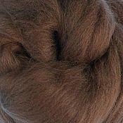 Материалы для творчества handmade. Livemaster - original item Merino 18 micron. Beaver. 50 gr.. Handmade.