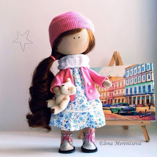 Коллекционные куклы ручной работы. Ярмарка Мастеров - ручная работа. Купить Интерьерная куколка. Handmade. Кукла ручной работы, мимими