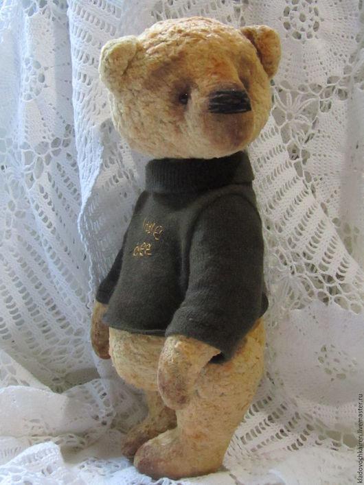 Мишки Тедди ручной работы. Ярмарка Мастеров - ручная работа. Купить Мишка тедди Little bee. Handmade. Тедди мишка