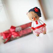 Куклы и игрушки ручной работы. Ярмарка Мастеров - ручная работа мишка Иван. Handmade.