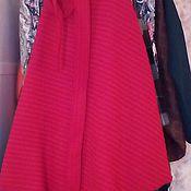 Одежда ручной работы. Ярмарка Мастеров - ручная работа Юбочка из шерсти/юбочка весенняя/юбочка длинная/юбочка с запахом. Handmade.