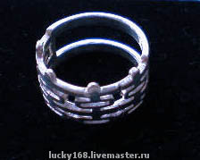 Кольцо в серебре 1800 руб