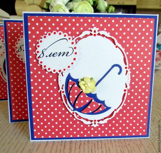 Пригласительные ручной работы. Ярмарка Мастеров - ручная работа. Купить Приглашение на Детский день рождения в стиле Мэри Поппинс. Handmade.