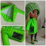 Куклы и игрушки ручной работы. Ярмарка Мастеров - ручная работа Пальто для блайз. Handmade.