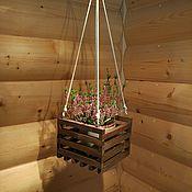 Цветы и флористика handmade. Livemaster - original item Hanging pots