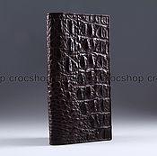 Сумки и аксессуары handmade. Livemaster - original item Purse crocodile IMA0040K3. Handmade.