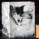 """Обложки ручной работы. Ярмарка Мастеров - ручная работа. Купить обложка """"Волки"""". Handmade. Волк, подарок на новый год, волки"""