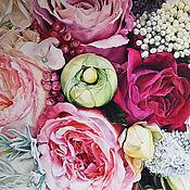 Картины и панно handmade. Livemaster - original item Oil painting Abundance 120h150 cm. Handmade.