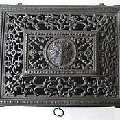 Винтаж handmade. Livemaster - original item Kus.Z. Of Collects Openwork Box Mascaron OLD Cast iron. Handmade.
