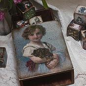 handmade. Livemaster - original item Fees (set of boxes with cubes). Handmade.