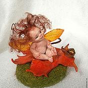 """Куклы и игрушки ручной работы. Ярмарка Мастеров - ручная работа """" Полли. Осеняя феечка"""". Handmade."""