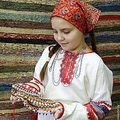 Русский стиль handmade. Livemaster - original item Jarecki button. Handmade.