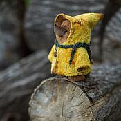 Куклы и игрушки ручной работы. Ярмарка Мастеров - ручная работа жёлтая сказка. Handmade.