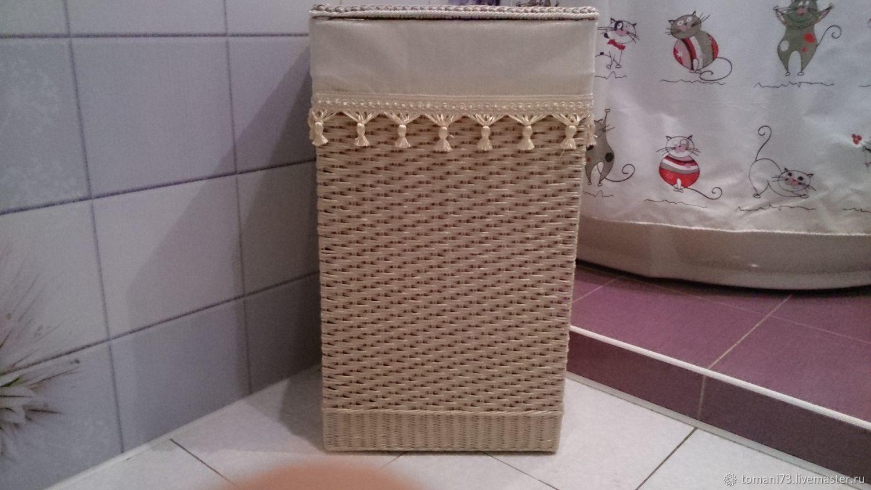 Плетёная корзина для белья 28, Корзины, Москва, Фото №1
