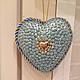 Подарки для влюбленных ручной работы. Заказать Ледяное сердце. Баба Света. Ярмарка Мастеров. Елочные игрушки, новогодний подарок