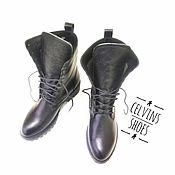 Обувь ручной работы handmade. Livemaster - original item High boots. Handmade.