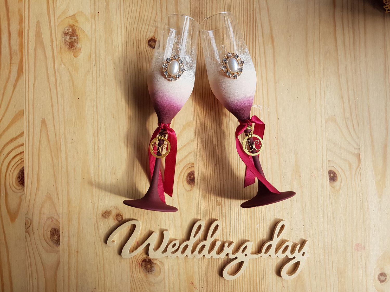Свадебные бокалы, Бокалы, Санкт-Петербург, Фото №1