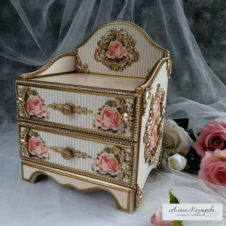 Chest of drawers 'Pink splendor', Dressers, Zeya,  Фото №1