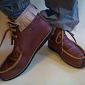 Обувь ручной работы. Ярмарка Мастеров - ручная работа МОКАСИНЫ 1.. Handmade.