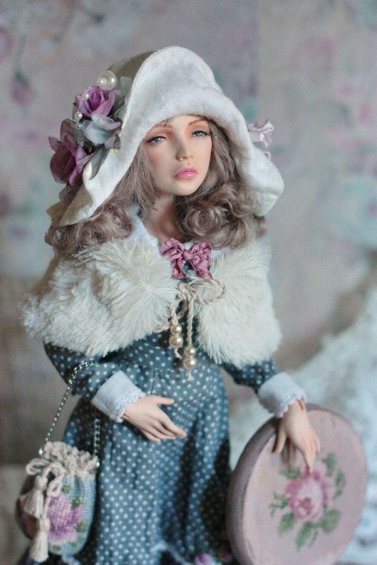 """Коллекционные куклы ручной работы. Ярмарка Мастеров - ручная работа. Купить Авторская шарнирная кукла """"Жозефина """" (продана). Handmade."""