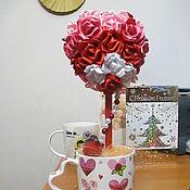 Цветы и флористика ручной работы. Ярмарка Мастеров - ручная работа Топиарий Любовь. Handmade.