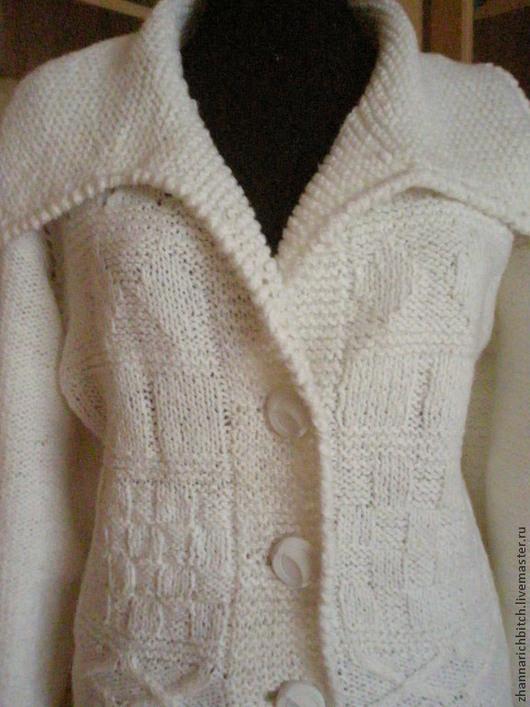 Кофты и свитера ручной работы. Ярмарка Мастеров - ручная работа. Купить Компплект для прогулок.. Handmade. Белый, подарок на любой случай