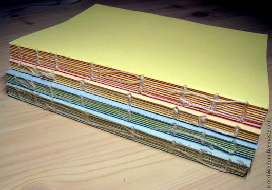 Открытки и скрапбукинг ручной работы. Ярмарка Мастеров - ручная работа. Купить блок для блокнота. Handmade. Блокнот ручной работы