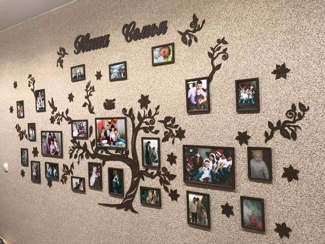Семейное дерево с фоторамками 285х145, Фоторамки, Уфа,  Фото №1