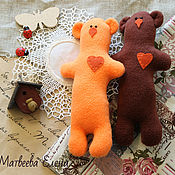 Куклы и игрушки ручной работы. Ярмарка Мастеров - ручная работа Тильда мишки. Handmade.