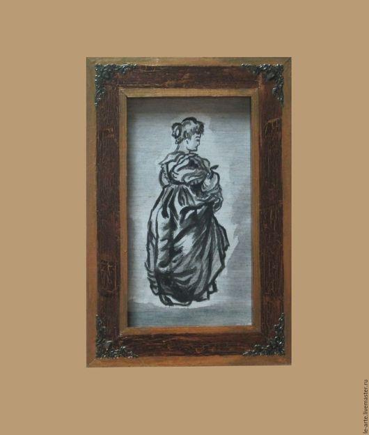 """Люди, ручной работы. Ярмарка Мастеров - ручная работа. Купить Картина (PAINTING). """"Дама"""" (""""Елена Фоурман"""" - по мотивам Рубенса). Handmade."""