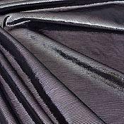 Материалы для творчества handmade. Livemaster - original item Natural suede Black silver 0,65 mm. Handmade.