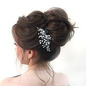 Свадебный салон handmade. Livemaster - original item Wedding hair comb.Bridal jewelry For the hair. Handmade.