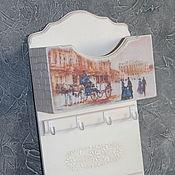 """Ключницы ручной работы. Ярмарка Мастеров - ручная работа Ключница """"Петербург"""". Handmade."""
