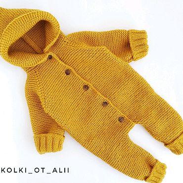 Одежда ручной работы. Ярмарка Мастеров - ручная работа Стильный модный комбинезон для малыша. Handmade.