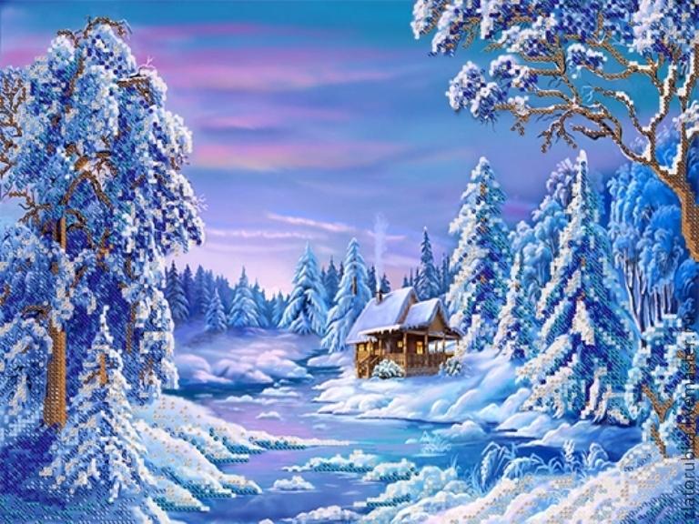 Зимний подарок своими руками
