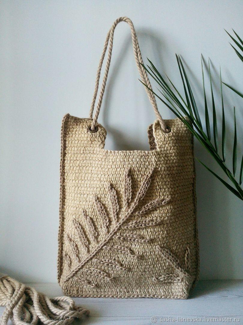 Summer Palm Leaf bag, Classic Bag, Sochi,  Фото №1