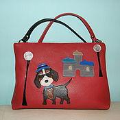 Сумки и аксессуары handmade. Livemaster - original item Bag leather,