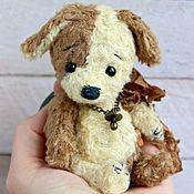 Куклы и игрушки ручной работы. Ярмарка Мастеров - ручная работа Тедди ЩЕНОК Друзья тедди. Handmade.