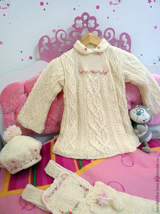 """Одежда для девочек, ручной работы. Ярмарка Мастеров - ручная работа. Купить Пальто для девочки """"Магия"""". Handmade. Пальто, демисезонное пальто"""