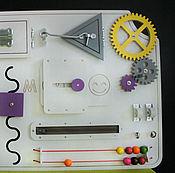 Куклы и игрушки ручной работы. Ярмарка Мастеров - ручная работа Бизиборд Шестеренки. Handmade.