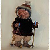 Куклы и игрушки ручной работы. Ярмарка Мастеров - ручная работа Лыжница. Handmade.