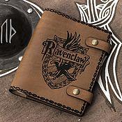 Блокноты ручной работы. Ярмарка Мастеров - ручная работа Кожаный Блокнот А5 - Гарри Поттер. Handmade.