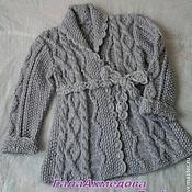 Работы для детей, handmade. Livemaster - original item knitted coat,cardigan